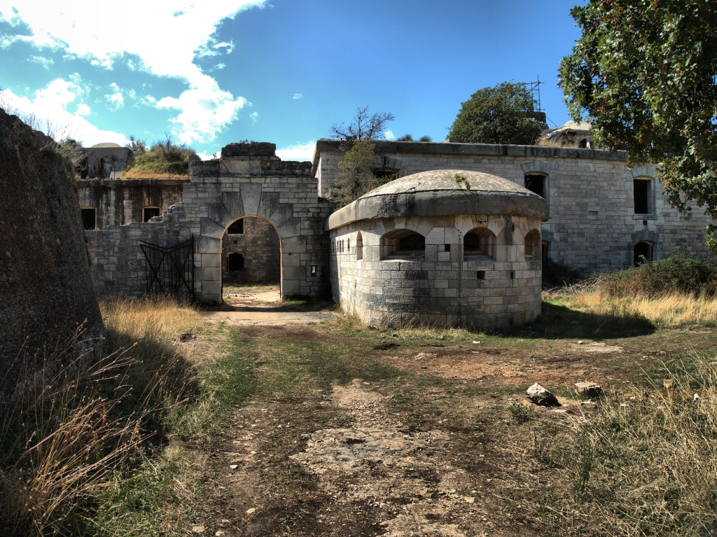 Zugang Fort Forno